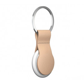 Nomad AirTag Leather Loop Natural