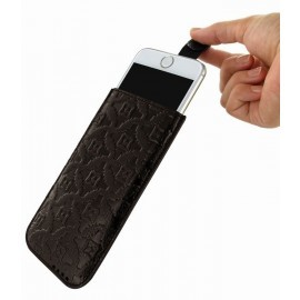 Piel Frama Pull Style Sleeve iPhone 6(S) / 7 bruin