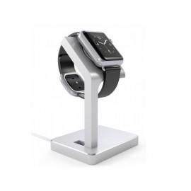 Satechi Aluminium Apple Watch Stand zilver