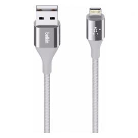 Belkin DuraTek Lightning naar USB Cable 1.2m zilver