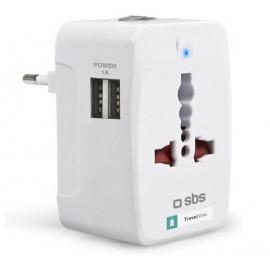 SBS Reis adapter met 2 USB outputs