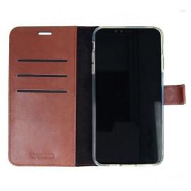Valenta Booklet Leather Gel Skin iPhone 11 bruin