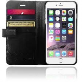 XtremeMac X-Wallet Leather Case iPhone 6(S) Zwart